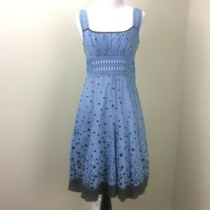 Floreat Dress Glass of Bubbly Embroidered Sundress